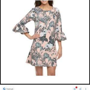 Nina Leonard Dresses - Nwt nina Leonard bell sleeve dress